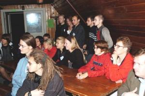 Õpilased ÕTÜ laagris