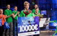 """""""Rakett 69"""" 7. hooaja võitja on Karl Vilhelm Valter."""